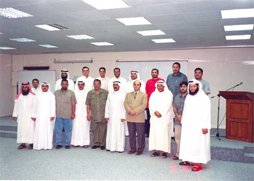 Delegates of Ministry of Communication (MOC) Kuwait attending NCB course